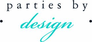 Parties by design color logo boerne texas